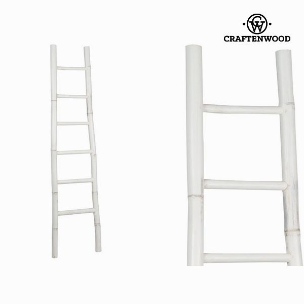 Staircase Bamboo White (171 x 39 x 6 cm) - Franklin Collection by Craftenwood