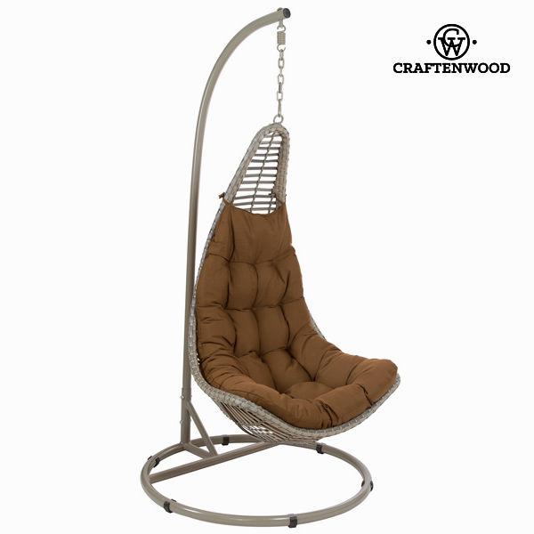 Brown hanging basket by Craftenwood