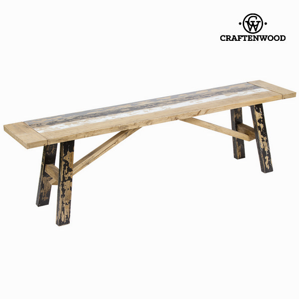 Bench Craftenwood (160 x 34 x 46 cm) - Poetic Collection