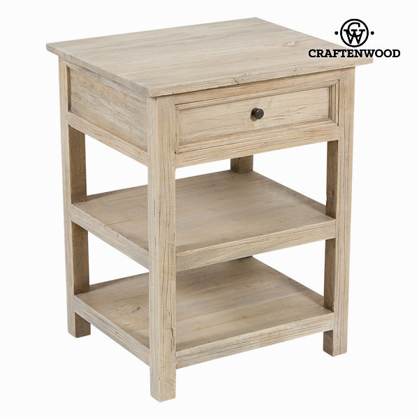 Table with 2 shelves - Pure Life Collection by Craftenwood