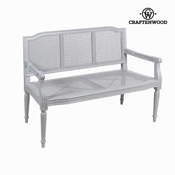 Wooden grey bench by Craftenwood