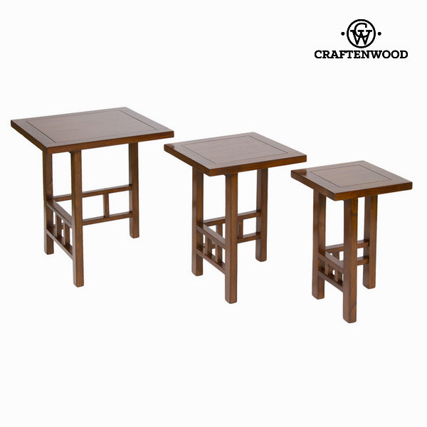 Nest table set of 3 - Serious Line Collection by Craftenwood