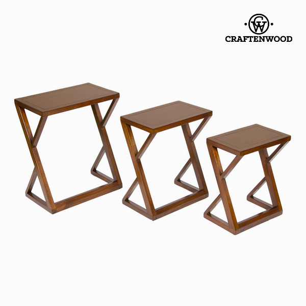 Zano nesting table - Serious Line Collection by Craftenwood