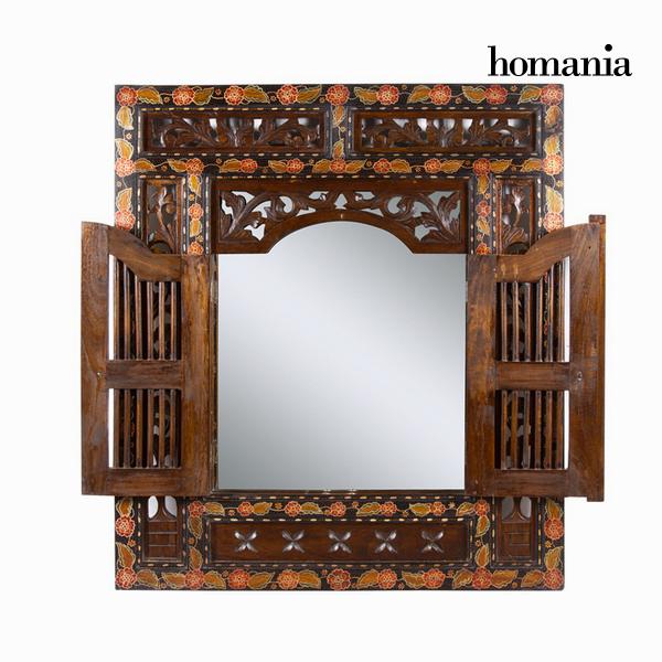 Mirror with batik door - Paradise Collection by Homania