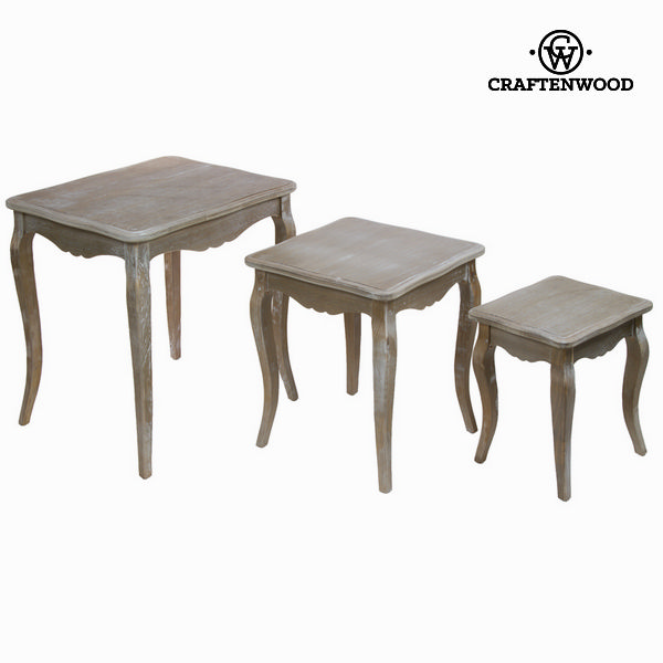 Nest tables set/3 - Vintage Collection by Craftenwood
