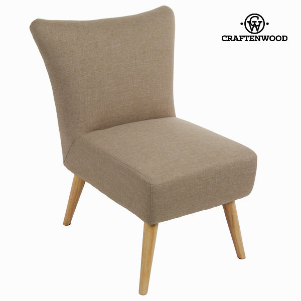 Sixty beige easy chair - Love Sixty Collection by Craftenwood