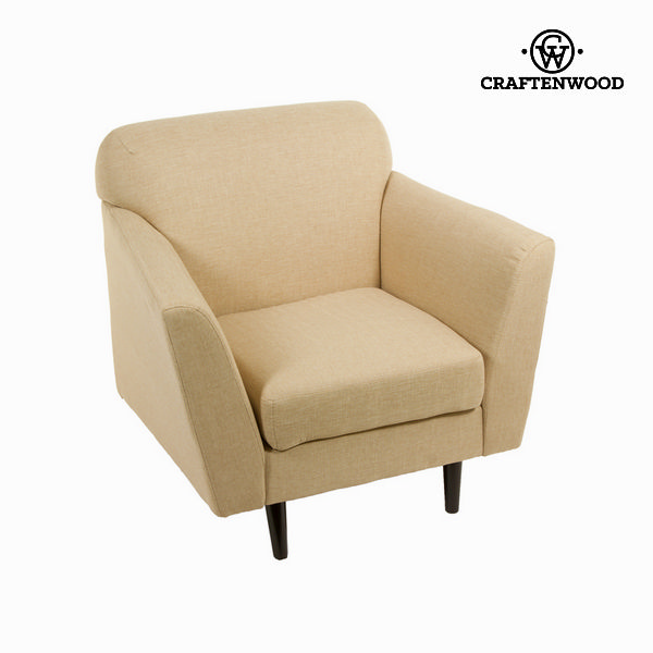 Abbey beige armchair - Love Sixty Collection by Craftenwood
