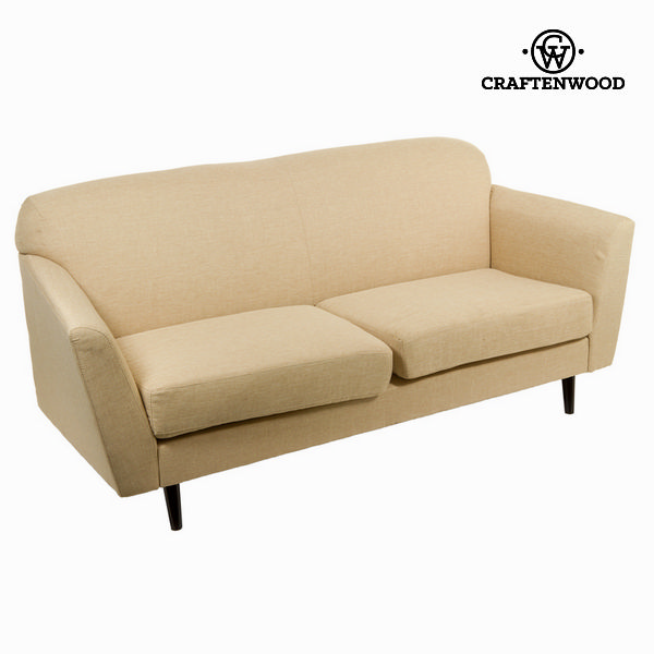 3 seater sofa beige abbey - Love Sixty Collection by Craftenwood