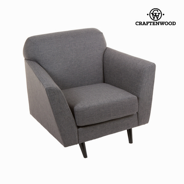 Armchair Grey (94 x 83 x 86 cm) - Love Sixty Collection by Craftenwood