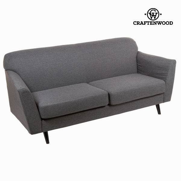 3-Seater Sofa Grey (193 x 83 x 86 cm) - Love Sixty Collection by Craftenwood