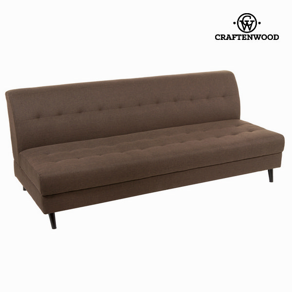3-Seater Sofa Brown (197 x 88 x 81 cm) - Love Sixty Collection by Craftenwood