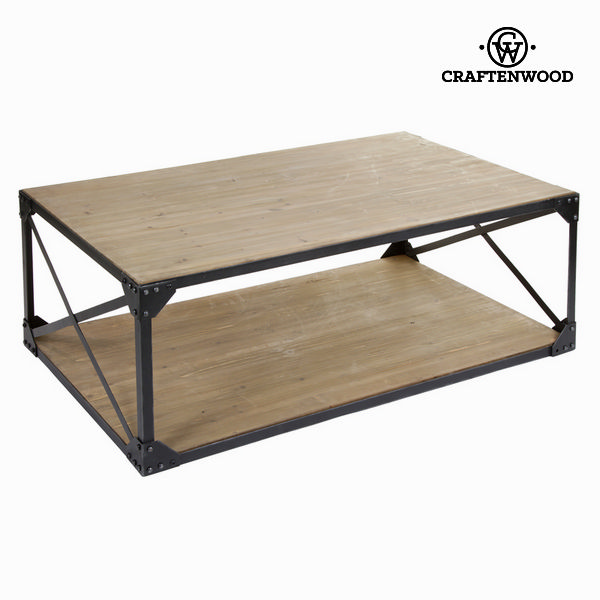 Centre Table Craftenwood (130 x 80 x 45 cm) - Thunder Collection
