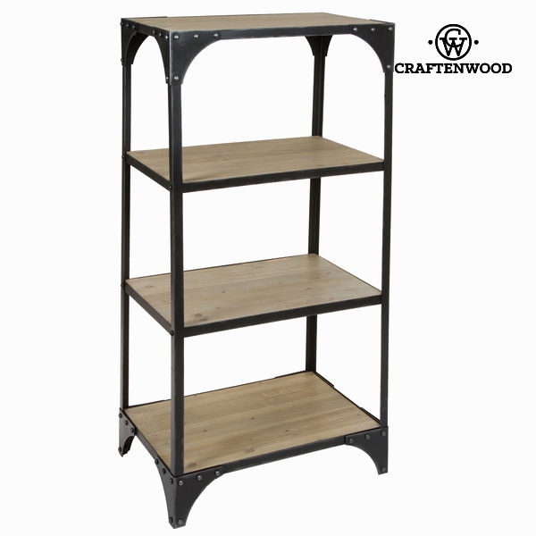Shelves Fir wood Iron (131 x 60 x 40 cm) - Thunder Collection by Craftenwood