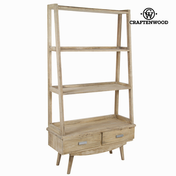 Shelves Mindi wood (180 x 100 x 40 cm) - Pure Life Collection by Craftenwood