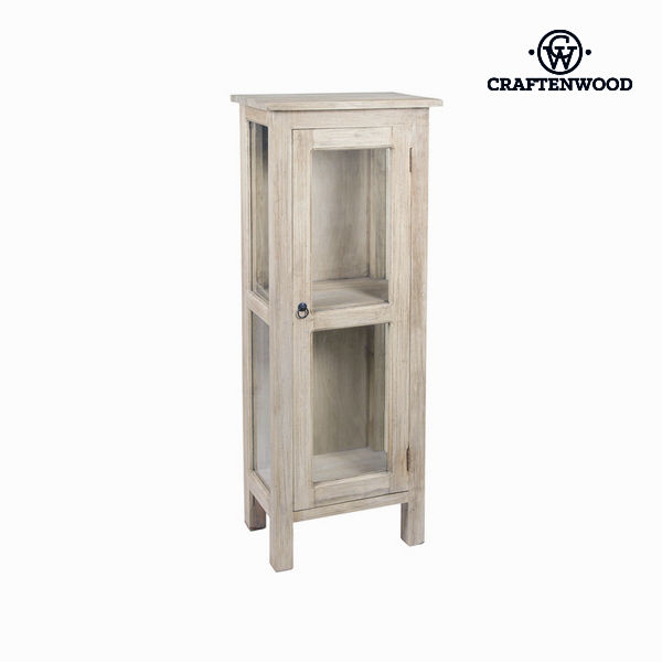 Display Cabinet With Glass Door Craftenwood (125 x 41 x 38 cm) Wood - Autumn Collection