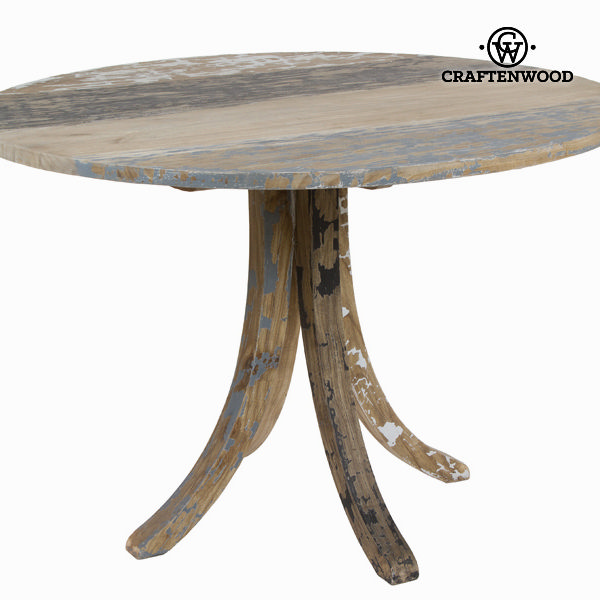 Table Mindi wood (120 x 120 x 78 cm) - Poetic Collection by Craftenwood