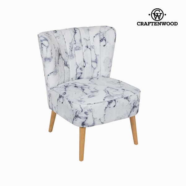 Chair Rubber wood (79 x 65 x 69 cm) by Craftenwood