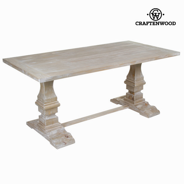 Dining Table (180 x 90 x 79 cm) - Natural Collection by Craftenwood