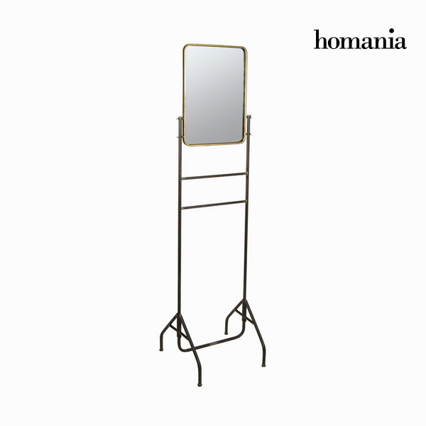 Metal mirror with gold by Homania