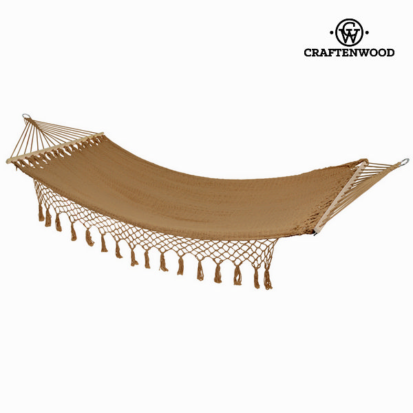 Hammock hanging brown by Craftenwood
