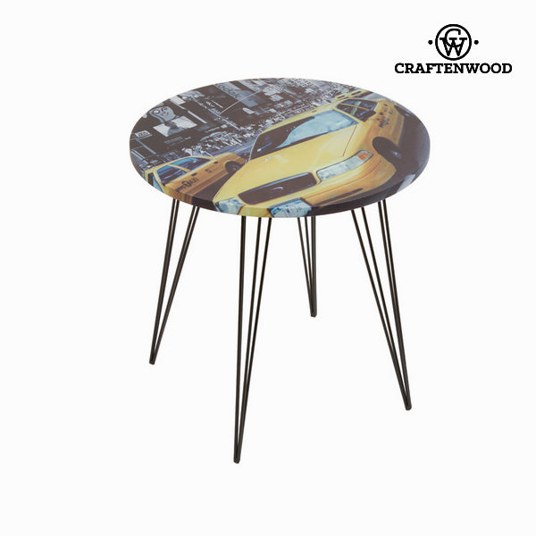 Centre Table Circular (45 x 45 x 45 cm) by Craftenwood