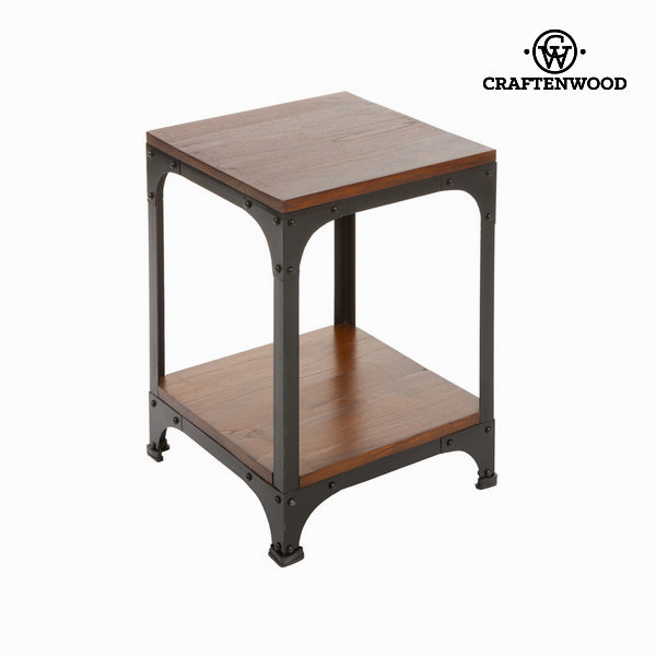 Wood and metal side table - Franklin Collection by Craftenwood