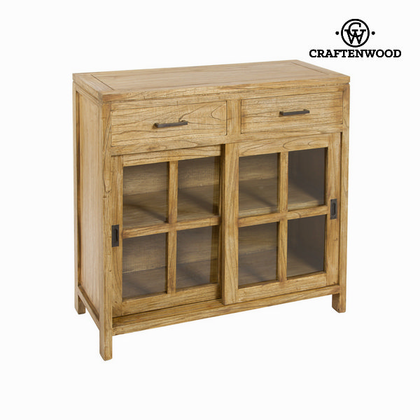 Ios side table 2 drawers - Village Collection by Craftenwood