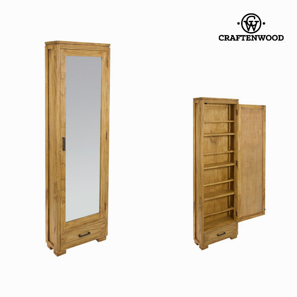 Shoes rack with mirror - Village Collection by Craftenwood