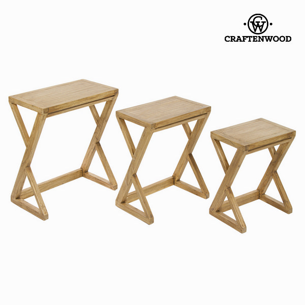 Nesting tables z ios - Village Collection by Craftenwood