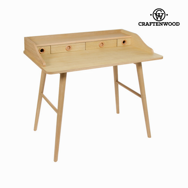 Wood bureau 4 drawers - Modern Collection by Craftenwood