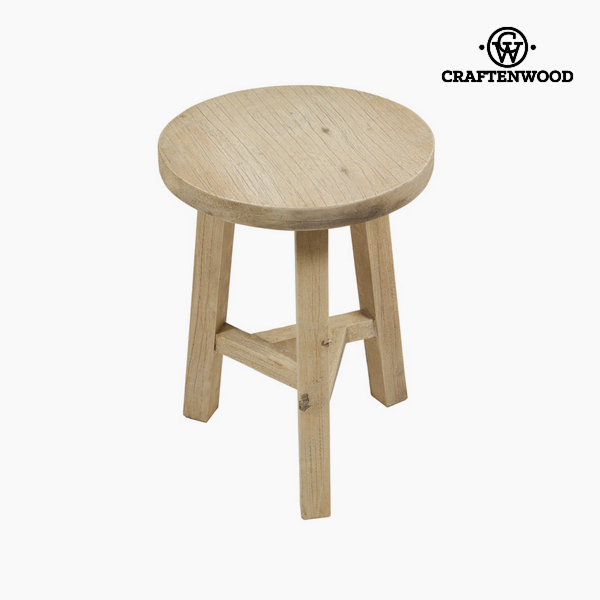 Wooden stool jelte by Craftenwood