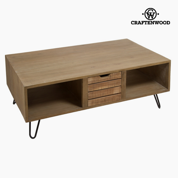Centre Table Bergen Mindi wood (121 x 70 x 45 cm) by Craftenwood