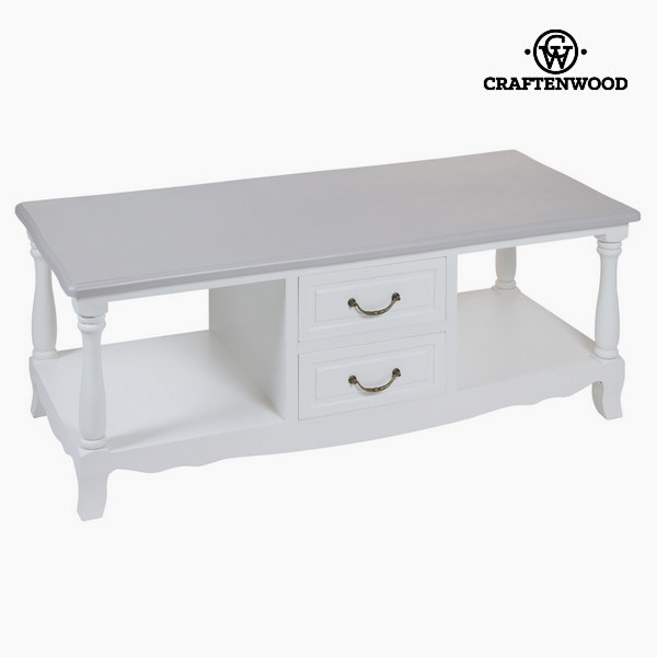 Tv table white altea by Craftenwood
