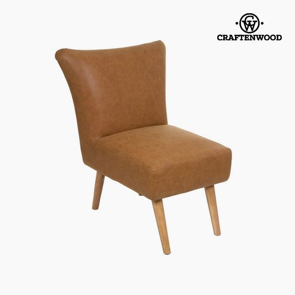 Retro vintage leather armchair - Vintage Collection by Craftenwood
