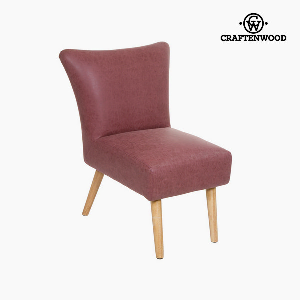 Coral vintage retro armchair - Vintage Collection by Craftenwood