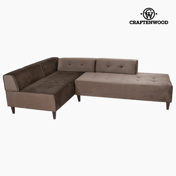 Chaise lounge gray ceos by Craftenwood