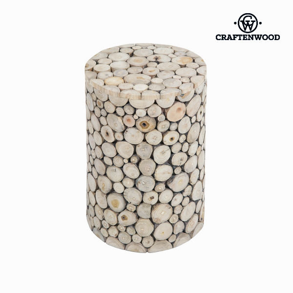 Trunk Stool Craftenwood (45 x 30 x 30 cm) Wood - Autumn Collection