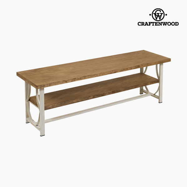 TV Table Wood / ironwork Beige - Serious Line Collection by Craftenwood