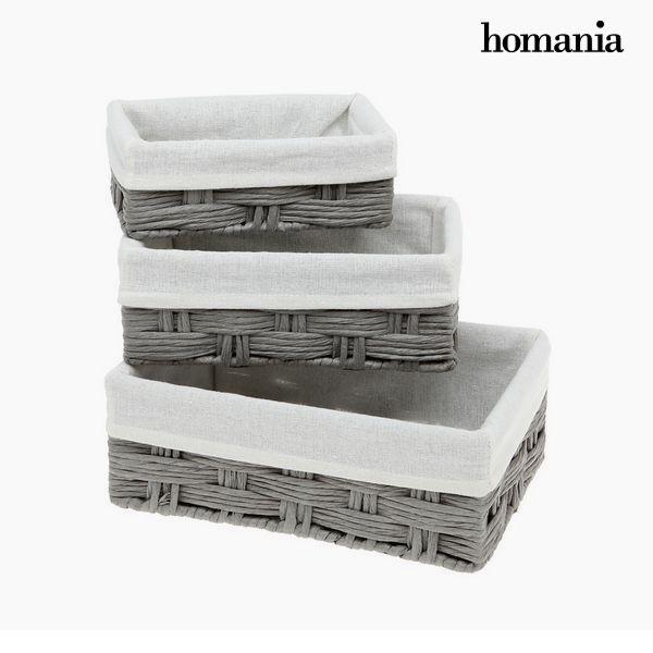 Set of Baskets Homania 3036 (3 pcs)