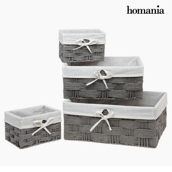 Set of Baskets Homania 3067 (4 pcs)