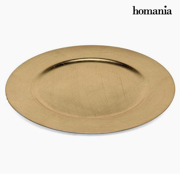 Flat plate Homanía 1109 Golden