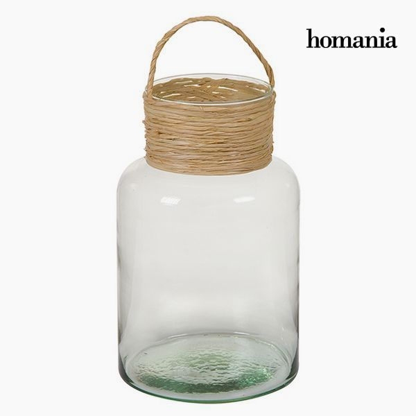 Vase made from recycled glass Glass Rope - Autumn Collection by Homania