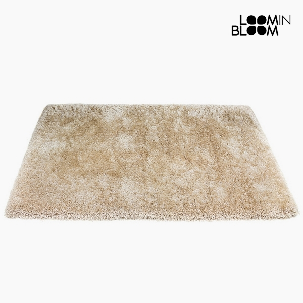 Carpet Polyester Silk Beige (170 x 240 x 8 cm) by Loom In Bloom