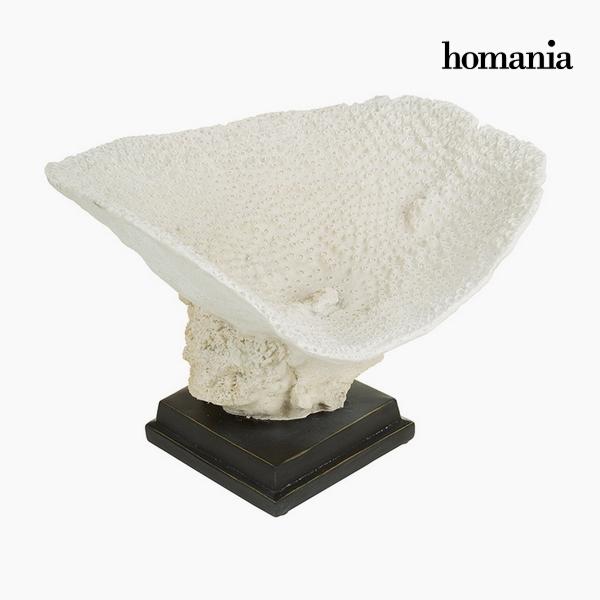 Centerpiece Resin Beige (37 x 33,5 x 25,5 cm) by Homania