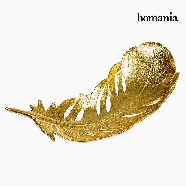 Centerpiece Resin Golden (55 x 24 x 13,5 cm) by Homania