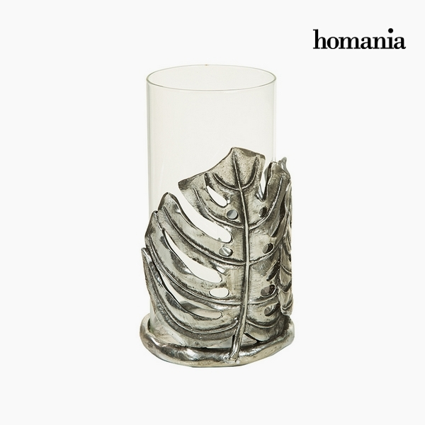 Candelabra Resin Crystal Golden (16 x 15 x 26 cm) by Homania