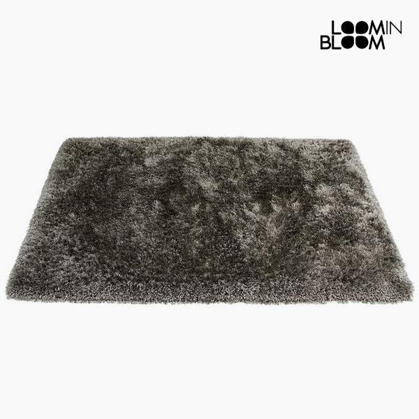 Carpet Polyester Silk Grey (170 x 240 x 8 cm) by Loom In Bloom