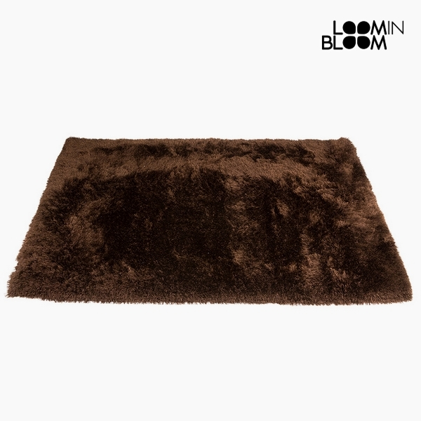 Carpet Polyester Silk Brown (170 x 240 x 8 cm) by Loom In Bloom