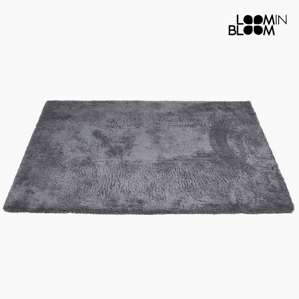Carpet Polyester Grey (170 x 240 x 8 cm) by Loom In Bloom