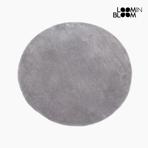 Carpet Acrylic Grey (90 x 90 x 3 cm) by Loom In Bloom